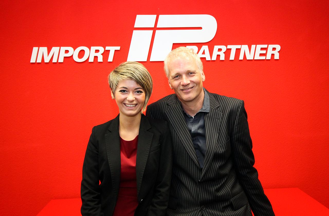 Das IMPORT PARTNER Team begrüßt Julia Kulikov und Uwe Berndt in seinen Reihen