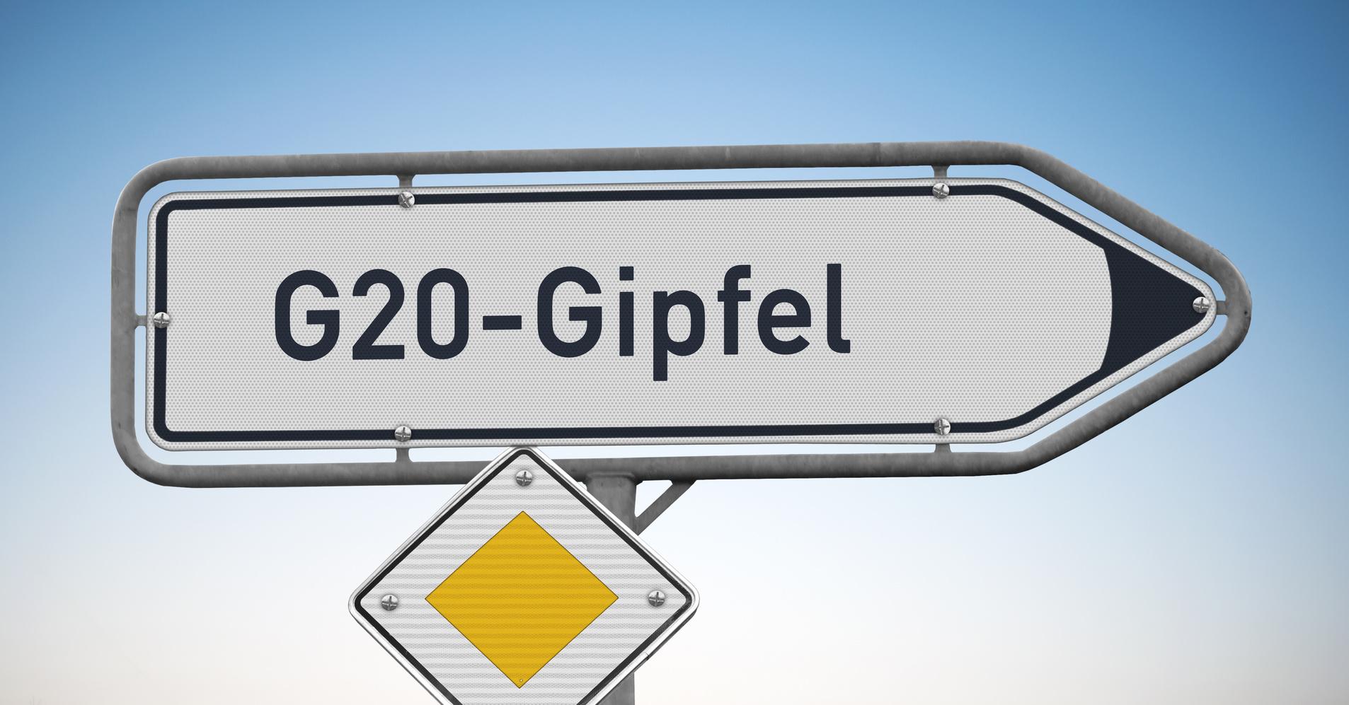 G20 - Beeinträchtigung im Hambur...