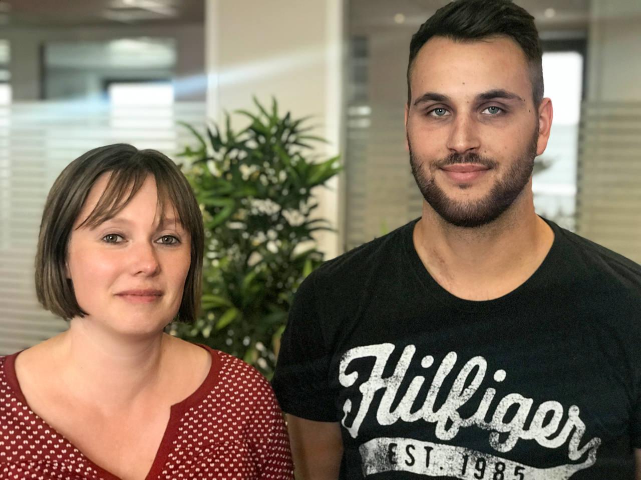 Das IP-Team begrüßt zwei weitere neue Mitarbeiter in seinen Reihen