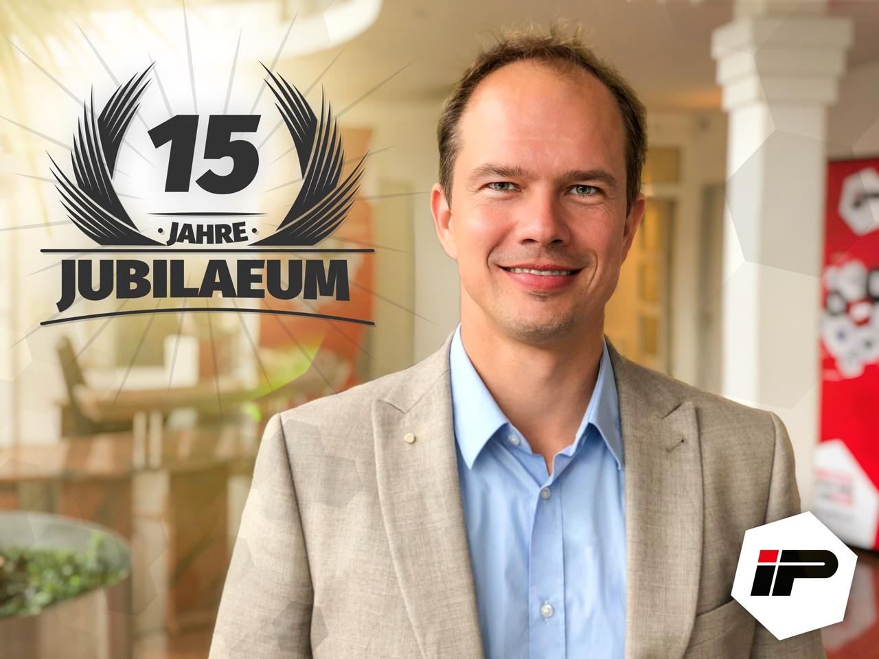 15 Jahre Hendrik Ledeboer bei IP