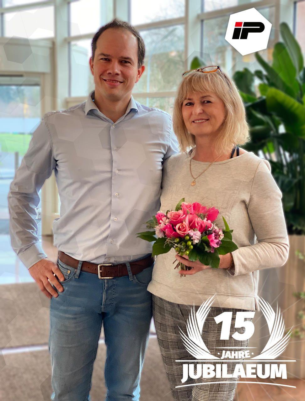 15 Jahre Elisabeth Zuehlke bei IP